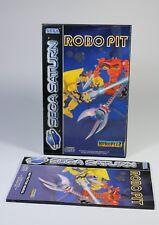 ROBO PIT für Sega Saturn Spiel komplett mit Anleitung und OVP robopit