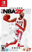 NBA 2K21 - Nintendo Switch Game Sealed Brand New 2K 21