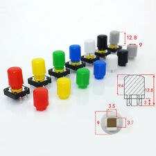 Tactile Push Button Switch Cap for 12x12mm Push Button Switch DIP PCB Mount