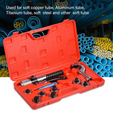 """CT-300A Hydraulic Tube Expander 7 Lever Tubing Expanding Tool Swaging Kit 5/8"""""""