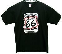 Vintage 1989 Route 66 Men's Size Large T Shirt Made in USA
