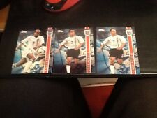 Sainsburys Exclusive 2002 Topps World Cup Blue Foil Cards x8