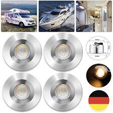 4x 12V LED Innenlicht Deckenlicht Lampe Van Boot Wohnmobil Wohnwagen Warmweiß