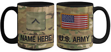 US Army Personalized Mug - Private (E2) US Army Gift for Dad/Mom/Son/Daughter