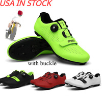 Men Road Mountain Bike Shoes Outdoor SPD Cleats Cycling Shoes Bicycle Sneakers