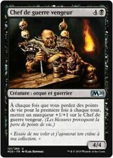 MTG Magic M20 - (x4) Vengeful Warchief/Chef de guerre vengeur, French/VF