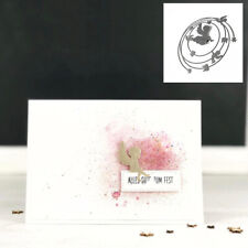 Round Angel Metal Cutting Dies Scrapbooking Embossing Album Paper Card Craft DIY