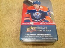 2012/13 UPPER DECK HOCKE SERIES 1 FACT SEALD TIN  BOX