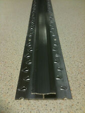 2700mm STIKATAK CARPET TO CARPET DOUBLE EDGE THRESHOLD TRIM SILVER