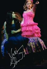 Shoshana Bean Elphaba SIGNED 12x18 Photo Wicked COA