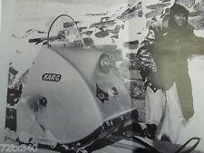 Vintage Snowmobile Varg Hood Chassis Chrome Trim 9 feet Ski-doo 1960 61 62 63 64