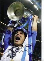 David Luiz Signed 12X8 Photo Chelsea FC AFTAL COA (1487)