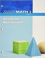 Grade 3 Saxon Math Student Workbook Part 2 3rd Edition