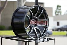 19x8.5 19x9.5 Inch +30/22 ESR Sr08 5x120 H. Black Wheels Rims E46 E90 E92 M3 M5
