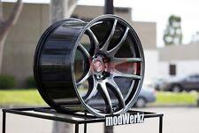 19x8.5 Inch +30 ESR Sr08 5x120 Hyper Black Wheels Rims E46 E90 E92 E93 M3 M5 Z4