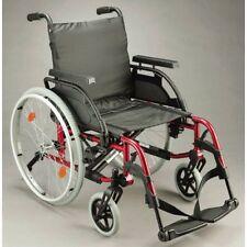 Breezy BasiX2 Wheelchair (Sunrise Medical) Red 14″ 16″ 18″ 20″ *BRAND NEW*