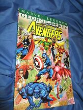 AVENGERS Marvel Legends TPB Book SIGNED by George Perez ~Ms Marvel/Black Panther