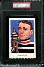 1983 Hockey Hall of Fame Ottawa SenatorsBouse Hutton Postcard PSA 10 GEM MINT