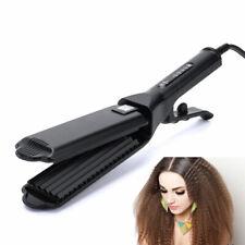 Portable Corrugation Hair Crimper Hair Wave Ceramic Corrugated Flat Electric