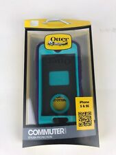 Otter Box Commuter Series for iPhone 5/5s/SE  Purple Turquoise NEW