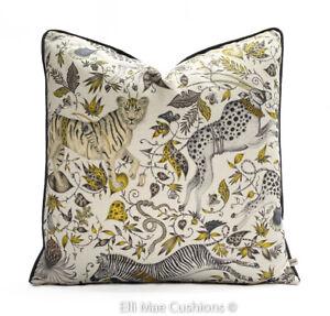 Emma Shipley for Clarke & Clarke Protea Designer Gold Cushion Pillow Cover