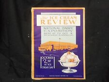 1924 SEPTEMBER THE ICE CREAM REVIEW MAGAZINE - GREAT COVER & ADS - ST 1006
