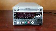 Sony PDW-1500 professional disc recorder vintage editing