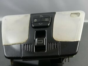 # MERCEDES C CLASS W202 CENTER SUN ROOF DOME LIGHT READING LAMP SWITCH TRIM