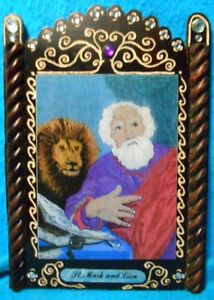 St. Mark Retablo - Patron of Secretaries, Interpreters