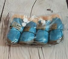Dog Australia Boots Shoes New In Package Blue  Size 1 Puppy Mini Dog
