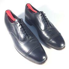 The Florsheim Shoe Mens Black Dress Captoe Shoes Size 10.5 D