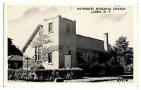 1950s Methodist Episcopal Church, Alden, NY Postcard