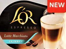 8 Tassimo L'OR Latte Macchiato Skinny T Discs Pods Sold Loose 8 T Discs 4 Drinks
