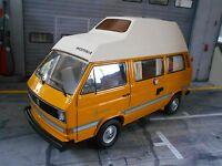 VW Volkswagen Bus T3 Hochdach Camper Westfalia Joker Camping Schuco Metall 1:18