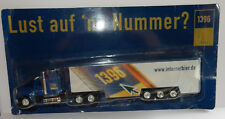 GRELL HO 1/87 CAMION TRUCK TRAILER FORD LTL 9000 100 % BIER BEER 1396 IN BOX