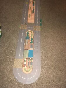 Vintage Tonka Kentoys Playset TRACK Lots Of Pieces Not Complete LOT Wow Rare!!!!