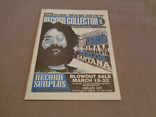 Record Collector News - Vol. 1 No. 6 - March-April 2009 - Jerry Garcia Cover
