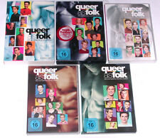DVD Paket: QUEER AS FOLK STAFFEL 1-5 (1 + 2 + 3 + 4 + 5) Komplett/ Deutsch