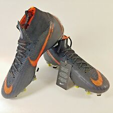 Nike Superfly 6 Elite SG Pro ACC Black Orange Cleats Boots Bag Spikes Size 7.5