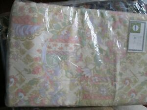 "vintage floral Curtains 86"" W  x 70"" D rail track fit bedroom room"