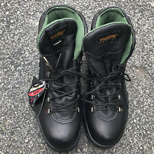 Men's Wolverine Work Boots W03778 Tacoma-Steel Toe size 10M, Us made, Black