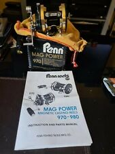 PENN MAG POWER 970 IN A GOOD USED CONDITION QUITE RARE REELS / BOXED WITH...