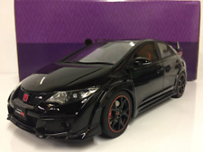 Honda Civic Type R Black 1:18 Scale Resin Kyosho KSR18022BK