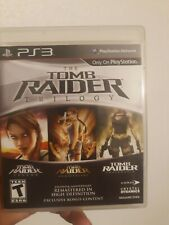 Tomb Raider: Trilogy (Sony PlayStation 3, 2011)cib