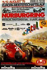 Original vintage poster GERMAN GP EC NURBURGRING 1979