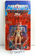 MOTU, Teela, 8-back, Masters of the Universe, MOC, carded, figure, He Man, MOSC