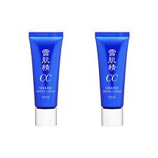 2 PCS KOSE SekkiseiWhite CC Cream SPF50+ / PA++++ 26ml #01 Light ochre