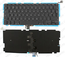 "APPLE MACBOOK PRO UNIBODY 13"" A1278 2009-2013 KEYBOARD UK LAYOUT BACKLIT F66"