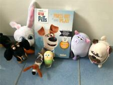 Secret Life of Pets Press out and Play Set + 6x Soft Toys Various Brands g11