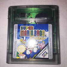 Super Mario Bros. Deluxe (Nintendo Game Boy Color) GBC Game Cartridge Exc!